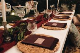 Arch Events Perth table setting