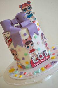 Bake Stories LOL cake