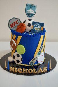 Bake Stories sports cake