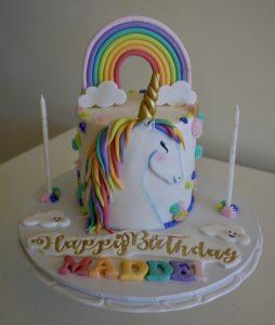 Bake Stories unicorn cake