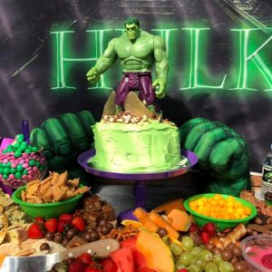 Canberra's Coolest Parties Hulk party