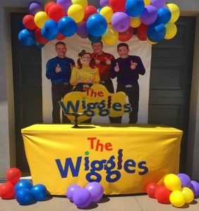 Canberra's Coolest Parties The Wiggles party