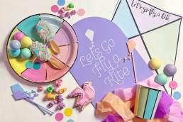 Cookie Queen Kitsch'n fly a kite