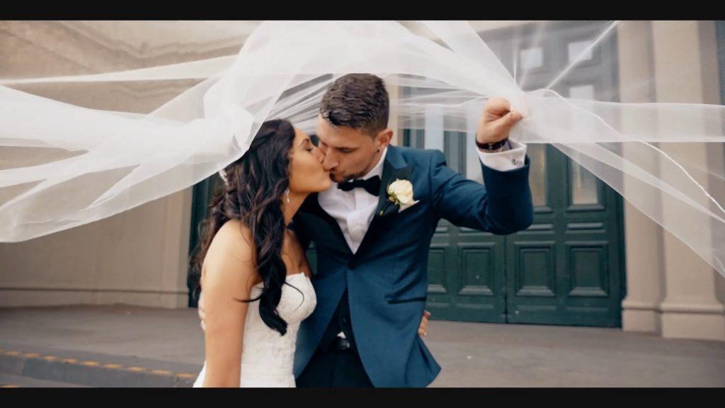 Fine Art Media bridal kiss