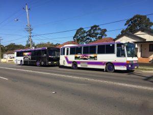 Jono's Party Bus transport