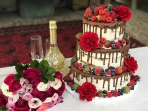 Katie's Cakes and Cookies drip cake