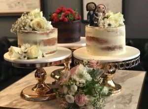 Katie's Cakes and Cookies wedding cake