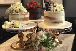 Katie's Cakes and Cookies wedding cake