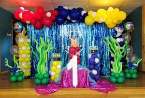 Pop The Balloon Children's Parties & Events baby shark