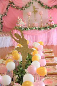 Pop The Balloon Children's Parties & Events ballerina