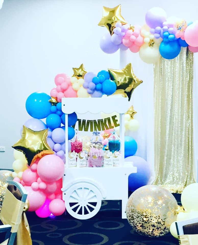 Pop The Balloon Children's Parties & Events candy cart