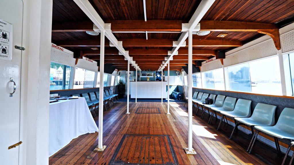 Sydney Harbour Party Boats the kraken inside