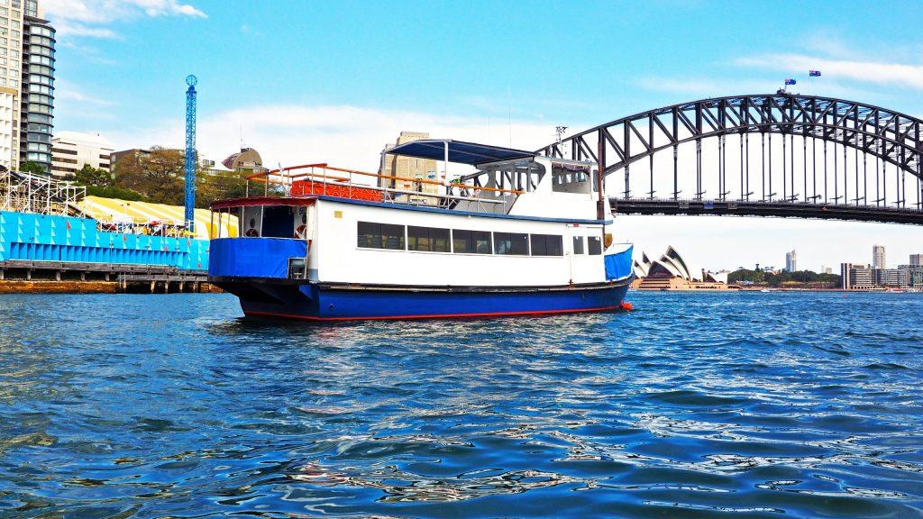 Sydney Harbour Party Boats the kraken