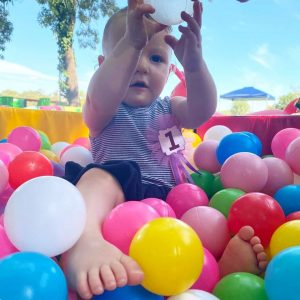 Teeny Tots Party Hire ball pit fun