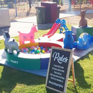 Teeny Tots Party Hire rules