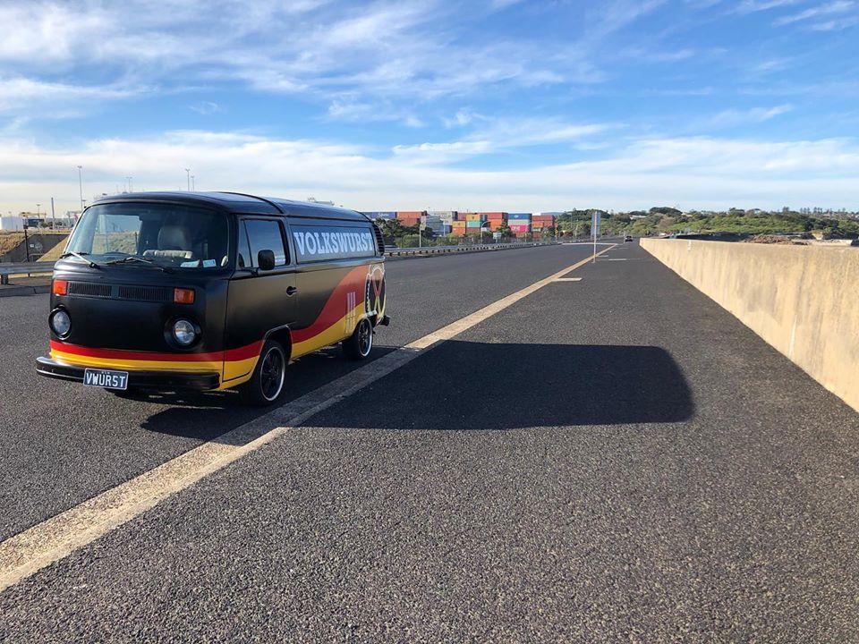 Volkswurst Sydney road tripping