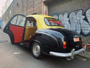 Bollywood Cars door open