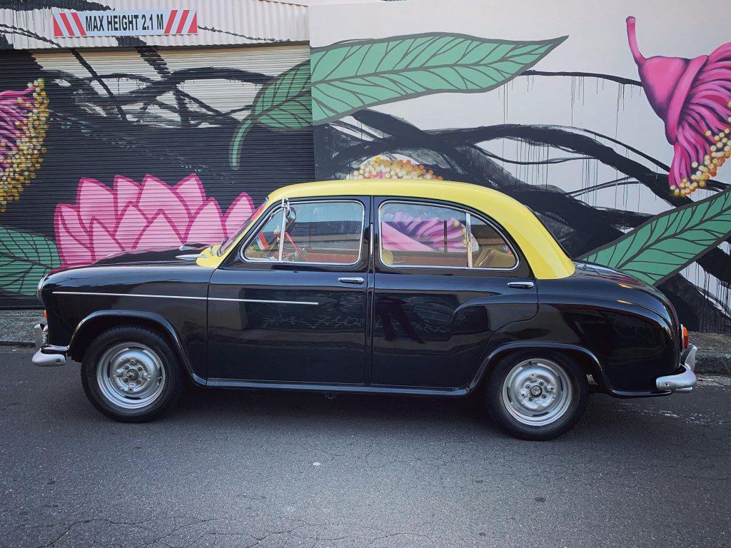 Bollywood Cars side shot