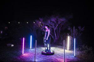 360 Booth night shoot