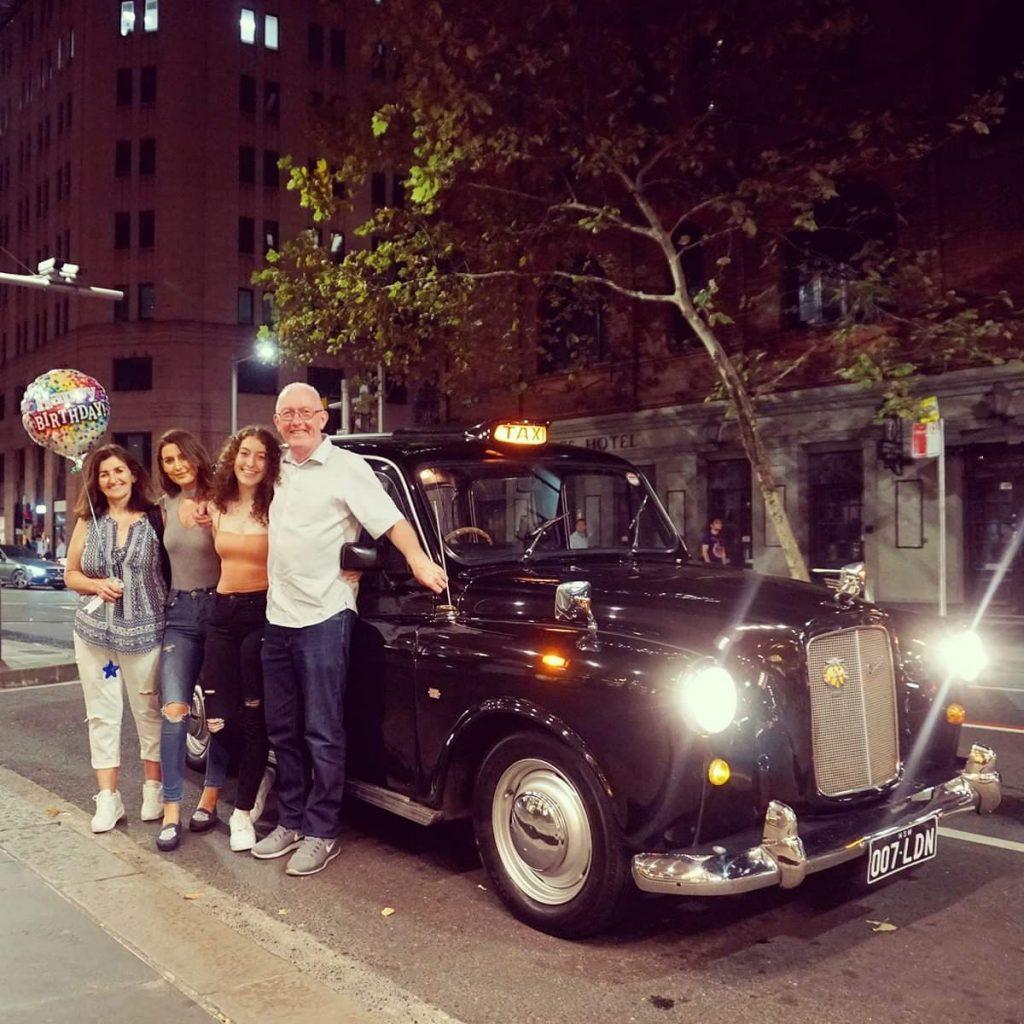Black Cab Central birthday cruise