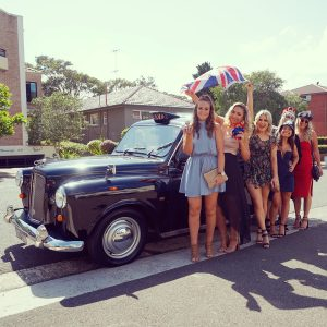 Black Cab Central hens party