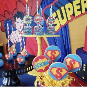 Birthday Hero Superman party