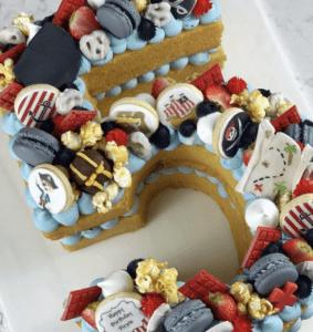 Birthday Hero cakes