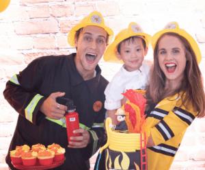 Birthday Hero fireman party
