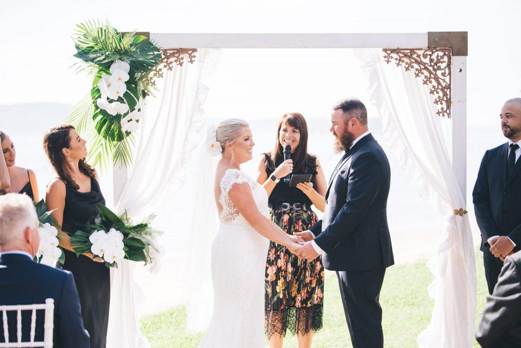 Eliza McAllister Celebrant Hayley and Chris