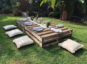 Empire Event Hire picnic table