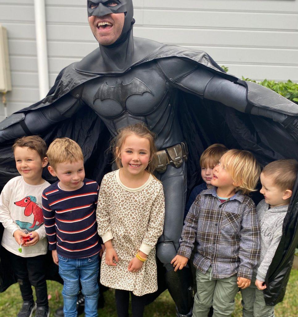 Home2Heroes Batman wings
