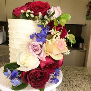 Icing On The Cake By Gay roses cake