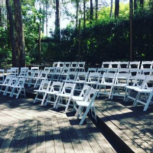 iParty Event Hire tiered chairs