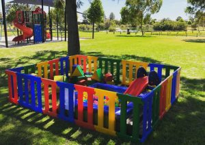 Little People Play outdoor play