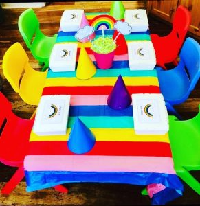 Little People Play table setting