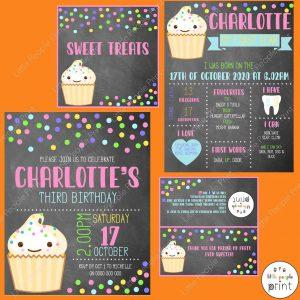 Little People Print birthday prints