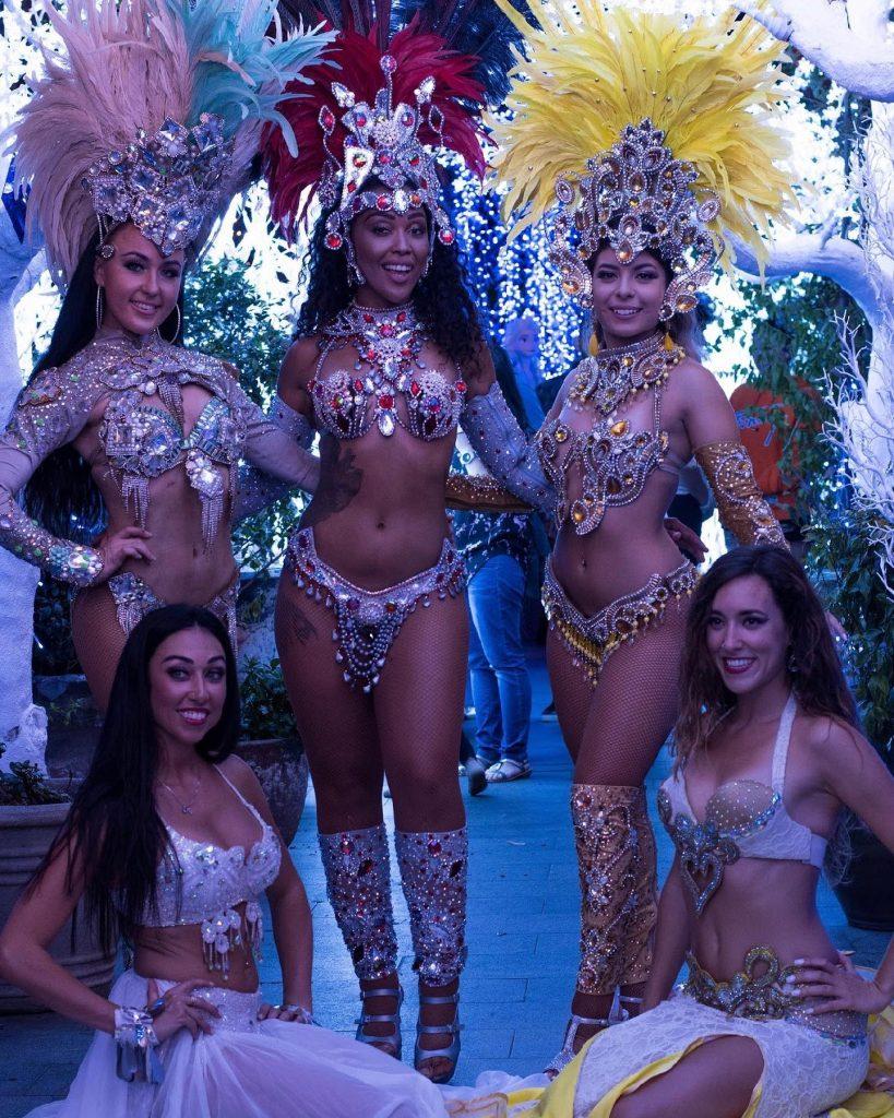 Natalia's Dance Entertainment latin dancer