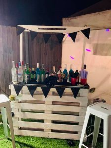 Party Hire Planet bar