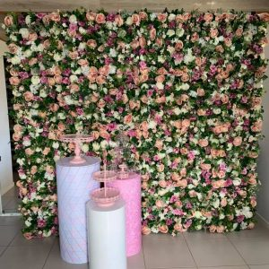 Party Hire Planet flower wall
