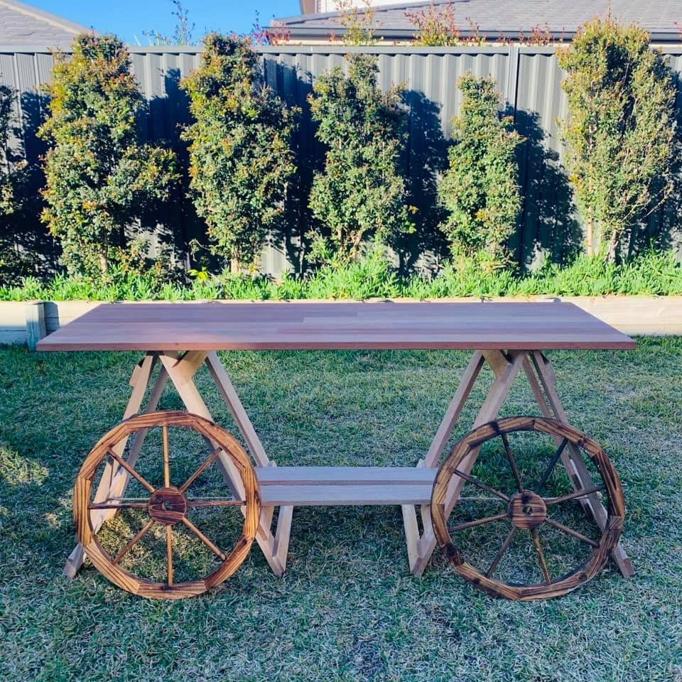 Party Hire Planet trestle table