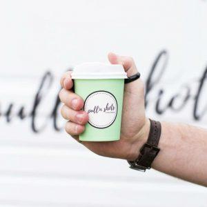 Pull'n Shots coffee cup