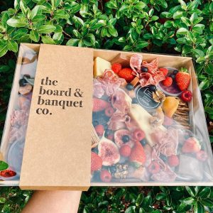 The Board & Banquet Co packaged box