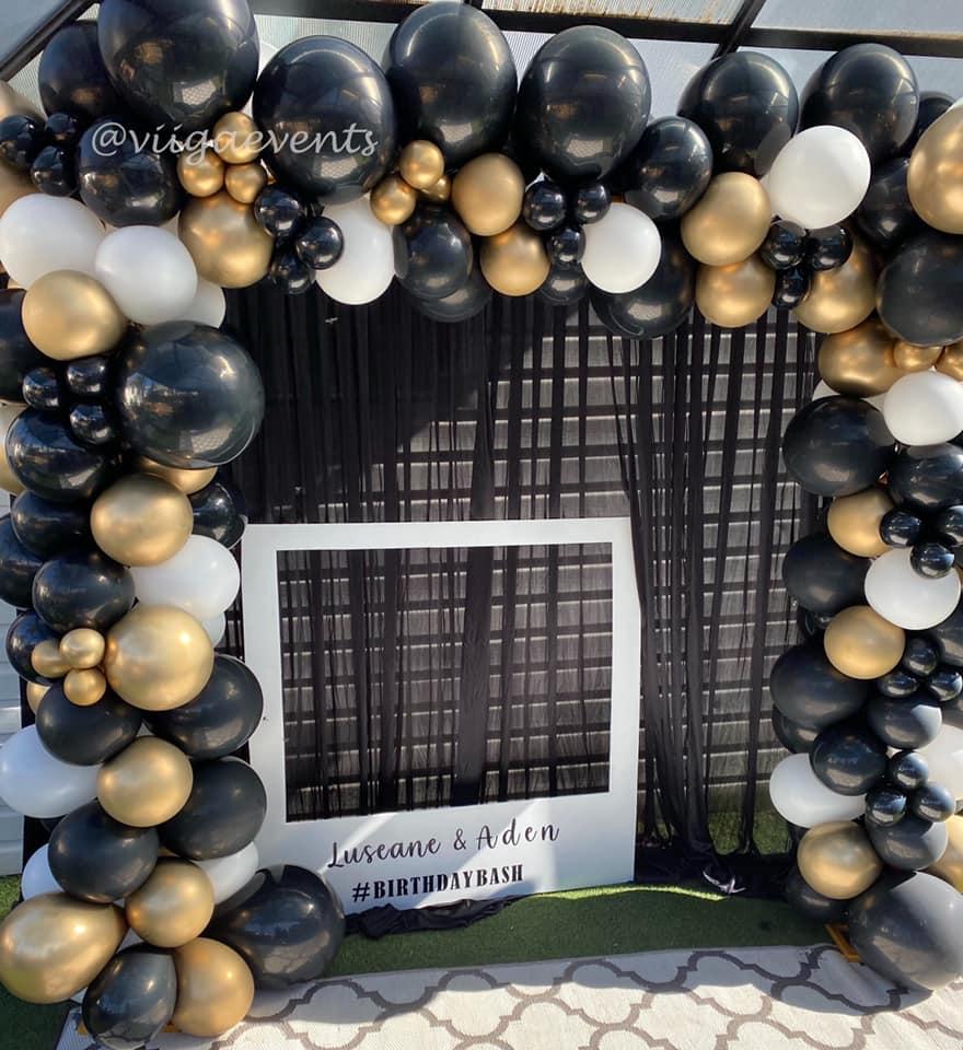 Viiga Events balloon arch