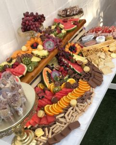 Viiga Events grazing table