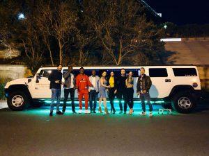 Xcite Hummer Rides crew