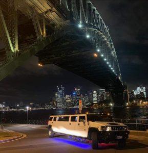 Xcite Hummer Rides Harbour Bridge