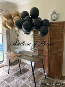 Balloon N Flower backdrop