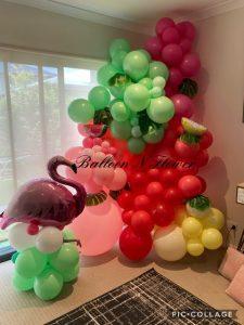 Balloon N Flower flamingo