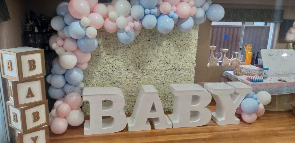Memorable Eventz baby setup