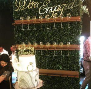 Memorable Eventz drinks wall